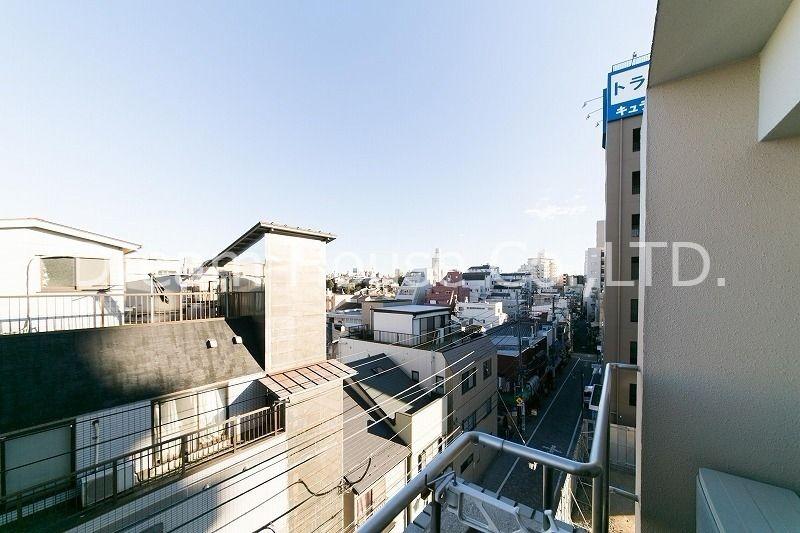 南側にも建物が無く終日明るいお部屋の白山口ビル501(三田線白山駅の賃貸1LDK)