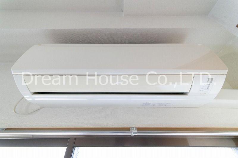 全室エアコンをつけた白山井口ビル501(三田線白山駅5分の賃貸1LDKマンション)