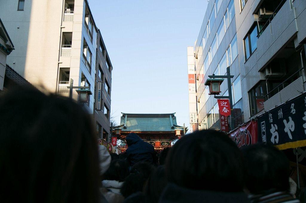 商売繁盛のご利益のある神田明神に初詣来ました。ドリームハウス株式会社