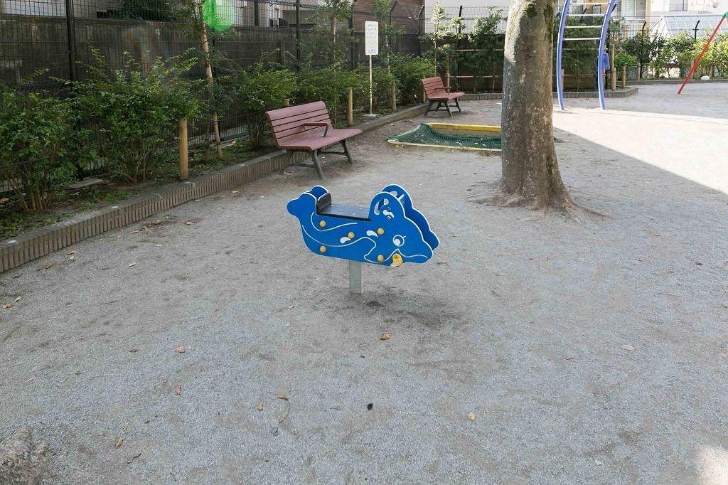 白山駅の公園「ふねこうえん」