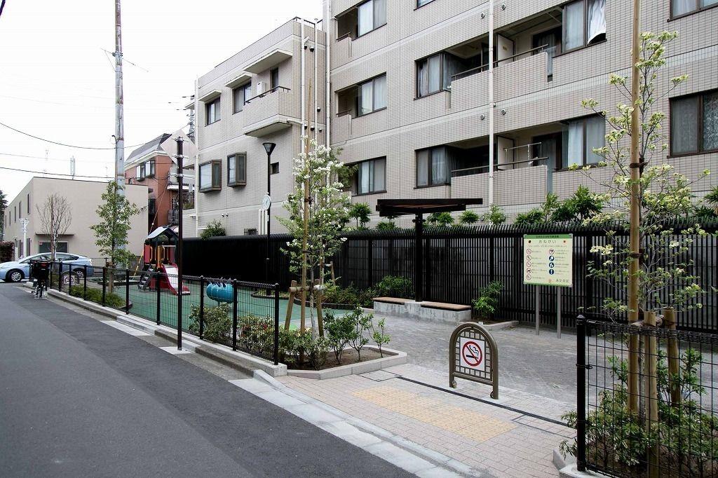 文京区本郷5丁目にある、台町第一児童遊園がリニューアルされました。