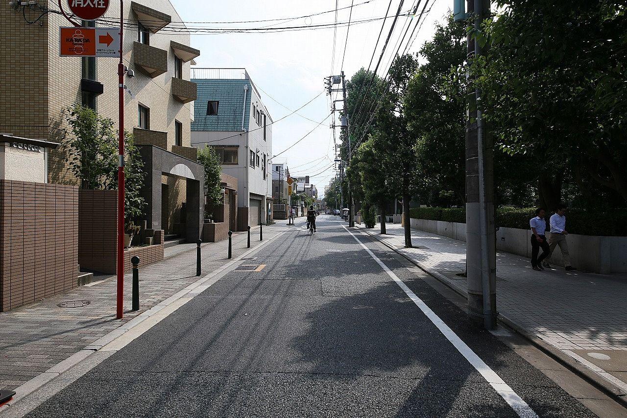 文京区本駒込2丁目の街並み。文京区本駒込のファミリー向け賃貸物件はドリームハウス株式会社