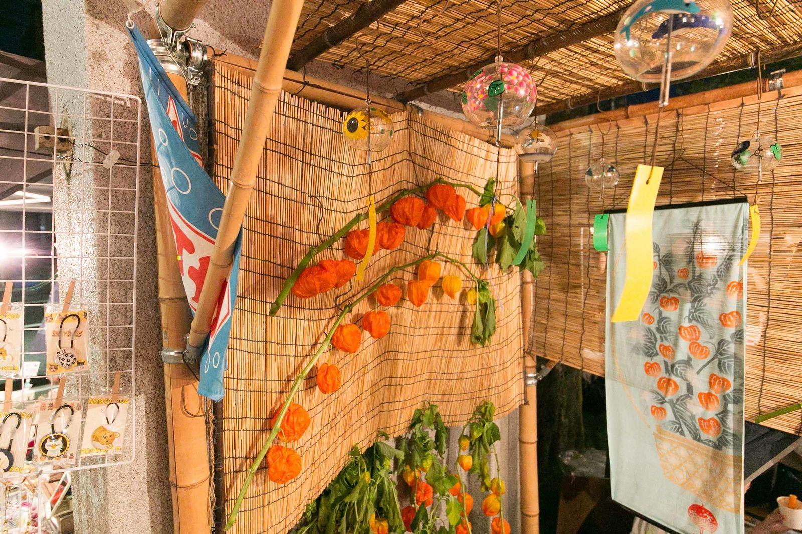 四万六千日ご利益のほうずき千成り市。駒込大観音光源寺で開催されています。