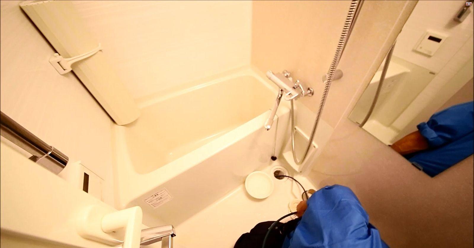 賃貸物件の排水管清掃(高圧洗浄)しました。