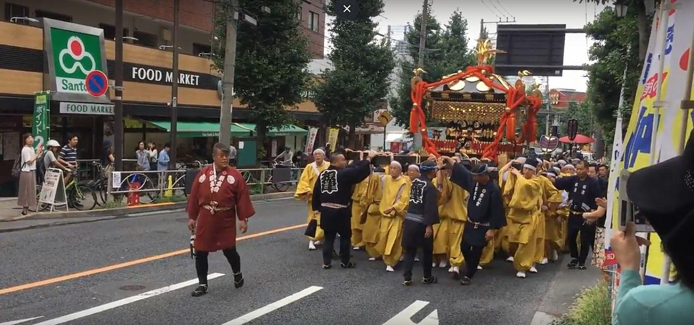 4年に一度の根津神社例大祭2018神幸祭