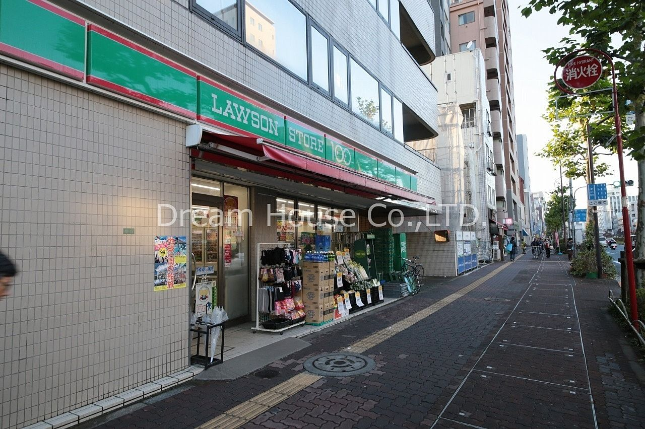 都営三田線千石駅のローソン100千石4丁目店です。文京区千石の24時間営業のスーパー