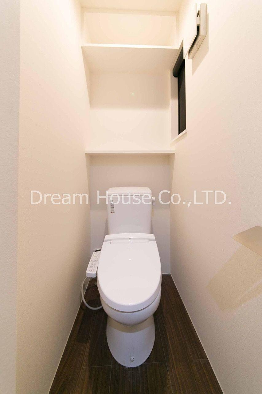 東大生大歓迎です。トイレには窓と換気扇を付けているので臭いはこもりません。