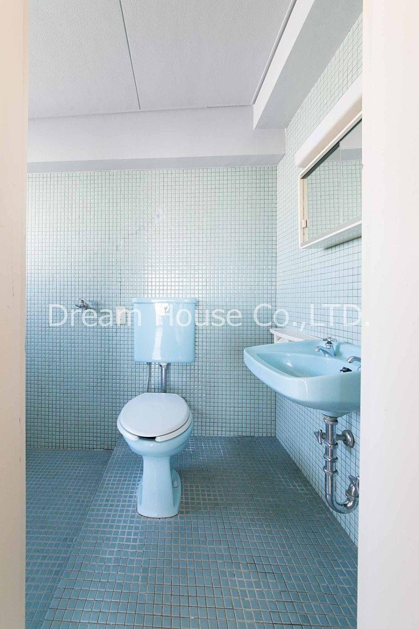 千石メーゾンのトイレは一段高くなっているので、風呂入ってもトイレの床が濡れることはありません。